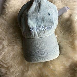 Calvin Klein light denim cap